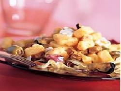 Turkse salade met aardappel - Turkse pikante worst en pikante mosselen