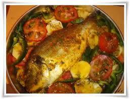 Vis uit de oven