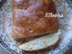 Vlechtbrood met kaas