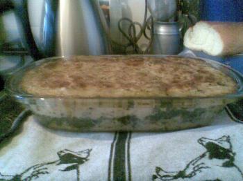Aardappel - Spinazie ovenschotel