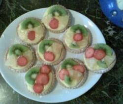 Snelle Fruit gebakjes