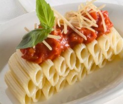 Pasta met tomatensauss