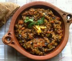 Za3louk ( Aubergine-salade)