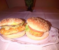 Zelfgemaakte kentuckyburgers