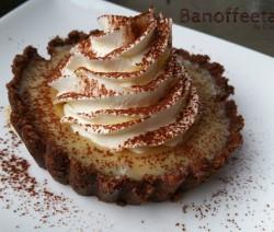 Banoffee taartjes - taartjes met banaan en karamel