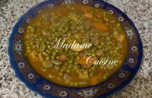 Ibawen marmita - Marokkaanse bonen met lamsvlees