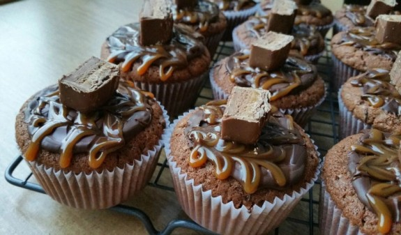 Mars cupcakes