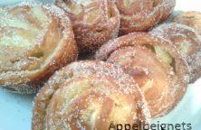 Appelbeignet een heerlijke gefrituurde appelflap