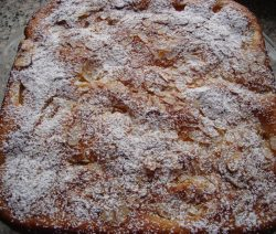 Perzikcake recept