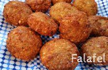 Libanese Falafel lekker krokant en samenhangend
