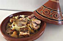 Heerlijke Marokkaanse Tajine met lam en courgette