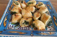 Vegetarische spinazie en fetakaas hapjes heerlijk en makkelijk