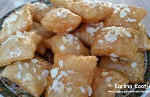Msemmen met amandelen en honing recept