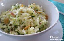Knapperige gezonde salade