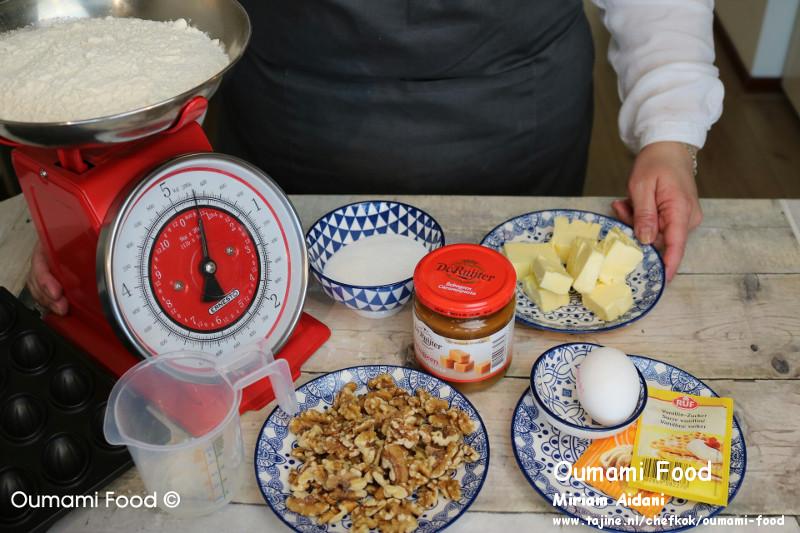 Lang houdbare walnootkoekjes ingredienten