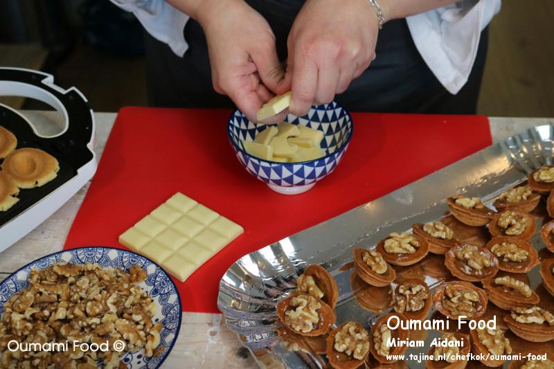 Lang houdbare walnootkoekjes koekjes chocolade breken