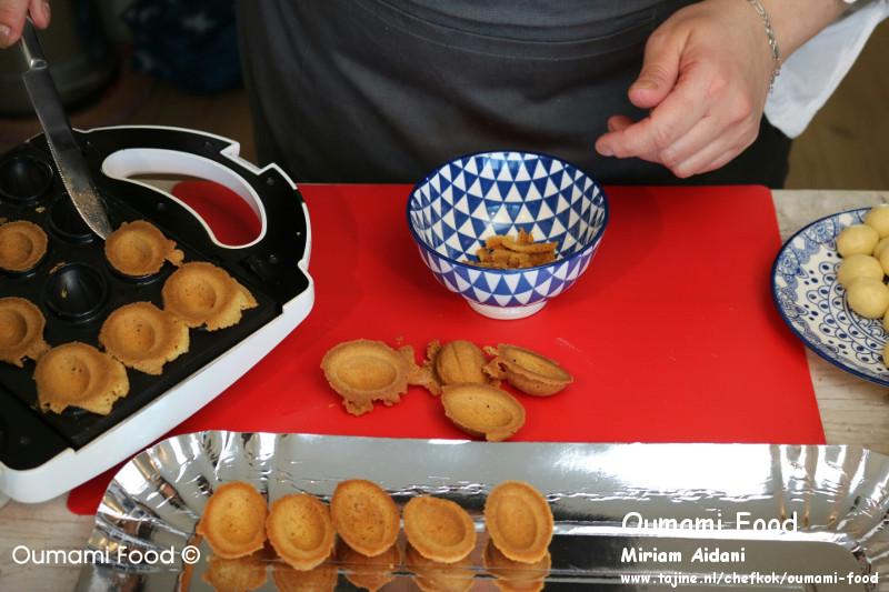Lang houdbare walnootkoekjes koekjes uitliften