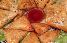 Marokkaanse briwat met vis