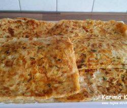 Marokkaanse gevulde msemmen met spinazie Recept