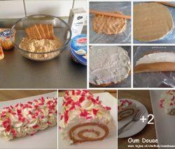 Biscuit Rolcake zonder oven binnen 10 minuten klaar