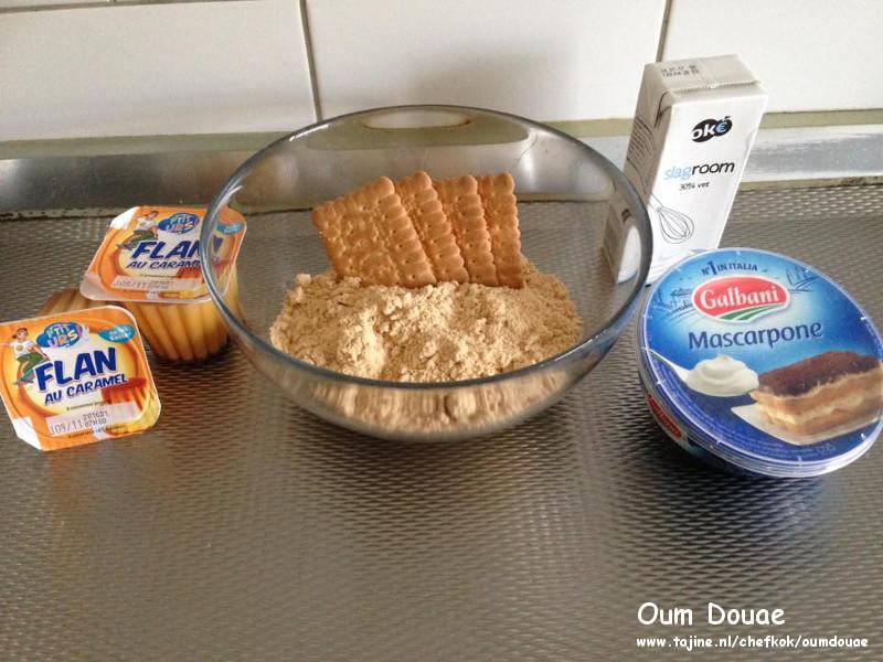 Biscuit Rolcake zonder oven binnen 10 minuten klaar ingrediënten