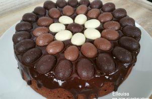 Chocolade paastaart