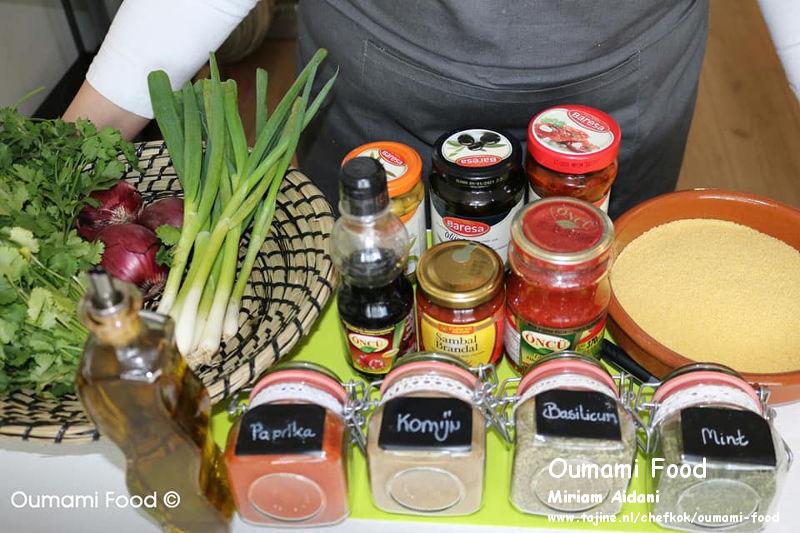 Couscous salade ingrediënten
