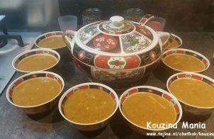 Marokkaanse Harira soep