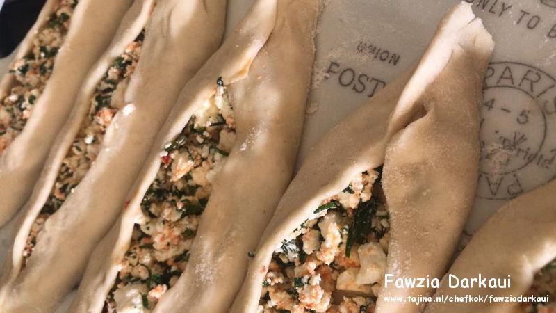Turkse pide met gehakt en Turkse kaas met kaasvulling