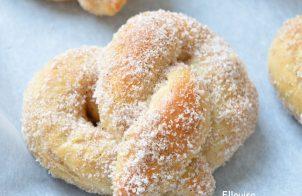 Zachte pretzels snelle broodjes om te maken